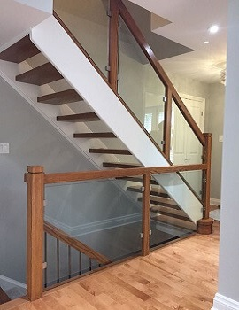 Glass Railings by Stairs for you