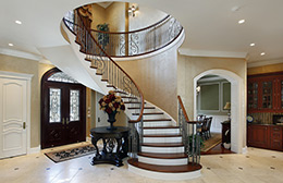 Curved Staircase Burlington