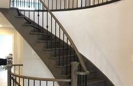 Wooden Staircase Burlington