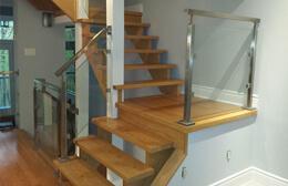 Custom Staircase and railings Burlington by Stairs4u