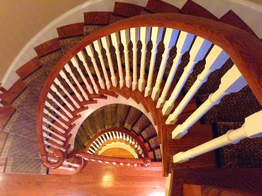 Modified stairs